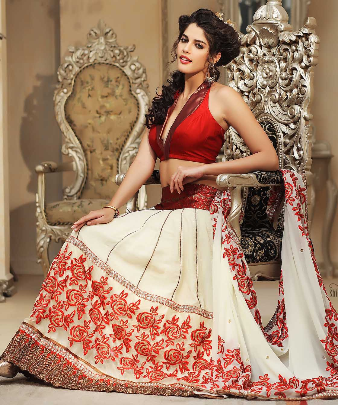 indian bridal wear saree collection